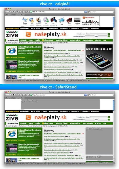 SafariStand, Safari Stand, safari, internet, reklama, zive, zive.sk