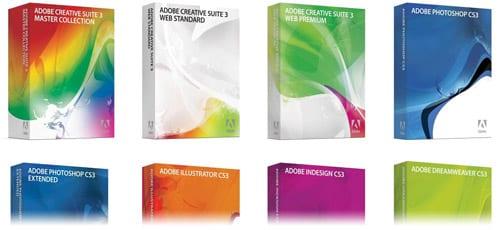 Adobe CS3 krabice
