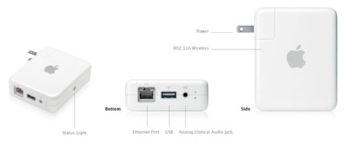 Apple Airport Express Base Station recenzia