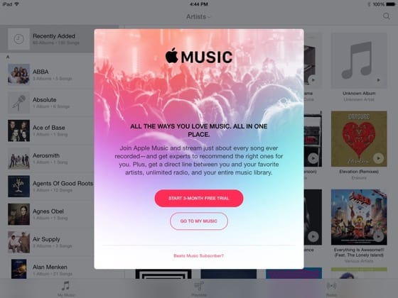 applemusic banner ios beta - Predplatné na Apple Music by mohlo na Slovensku stáť menej ako 10 eur