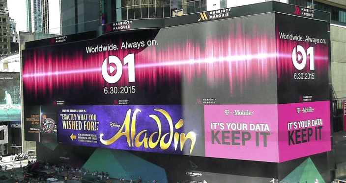 Beats 1 Times Square