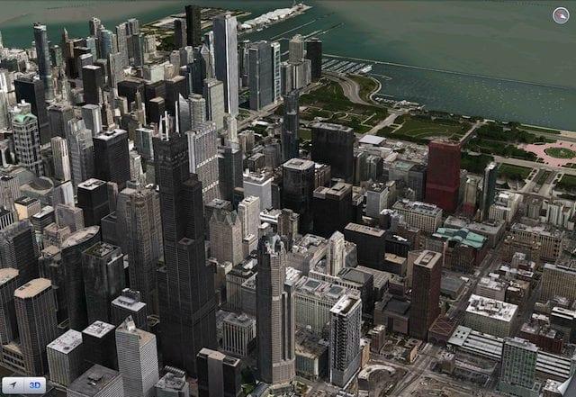 chicity - Apple mapy podporujú Flyover pre sedem nových miest