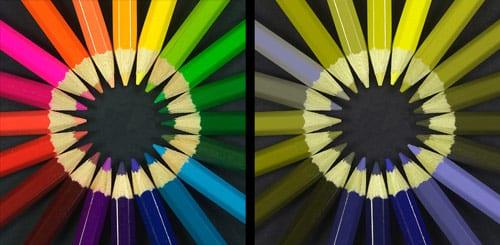 Color Oracle, Colour Oracle, Colororacle, Colouroracle, spektrum, farby, pastelky, zrak, Mac OS X