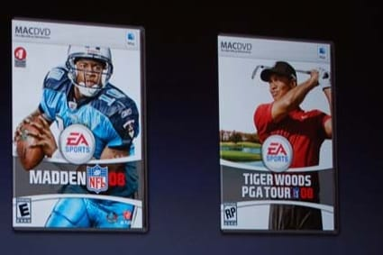 Tiger Woods 08, Madden 08 for Mac