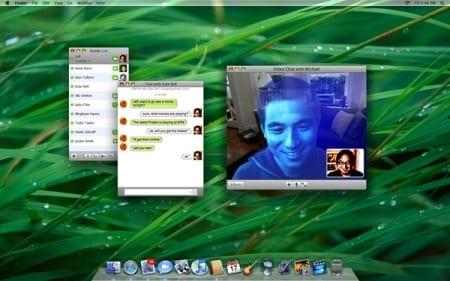 iChat na Macu