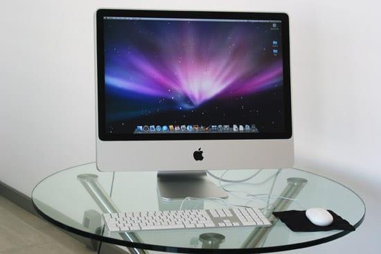 iMac displej
