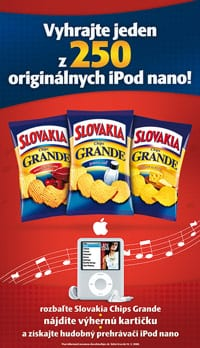 Apple iPod Intersnack Grande Chips poster