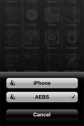 AirPlay v iOS 4.2