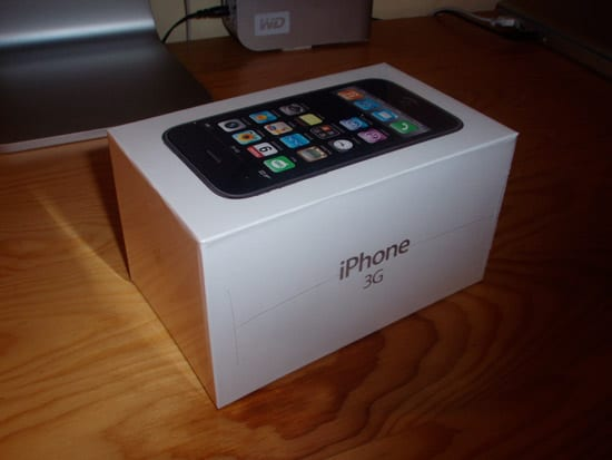 Slovenský iPhone 3G biely 16GB