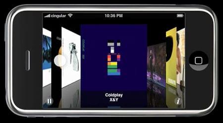 iPhone Cowerflow