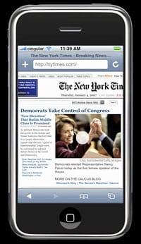 iPhone Web Safari