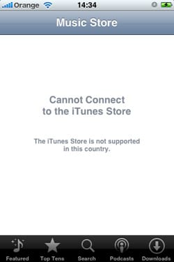 iPhone iTunes Podcasts