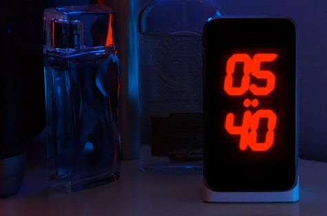 NightTime hodiny pre iPhone