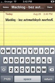 iPhone vypnutie prediktívneho písania