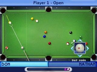 Sims Pool: single-player mód.