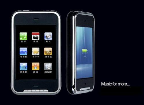 """Čínsky """"iPod touch""""."""