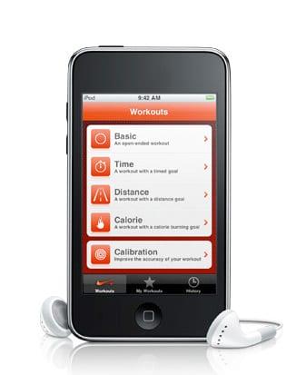 iPod touch 2. generácia Nike+