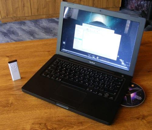 MacBook displej