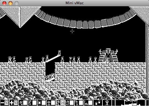 Mini vMac, lemmings, lemingovia os