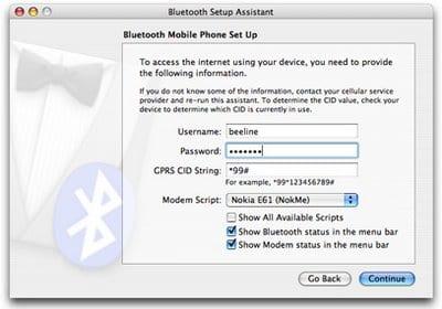 Nokia Mac OS X Internet Bluetooth