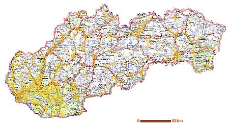 Orange Pokrytie 3G Slovensko