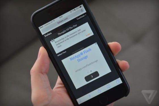 safari ios9 adblock - Nové Safari v iOS 9 podporuje rozšírenia na blokovanie reklám