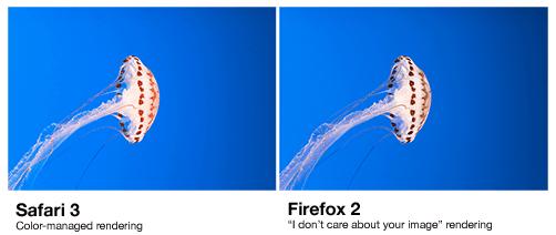 Safari vs Firefox CM