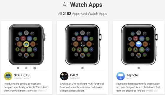 watchaware apps - WatchAware ponúkajú katalóg všetkých schválených aplikácií pre Apple Watch