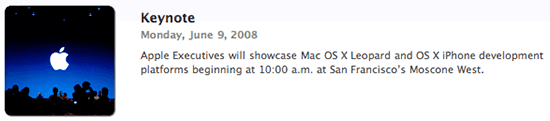 WWDC 2008