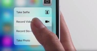 iPhone 6s 3D Touch 380x201 - Immersion žaluje Apple za porušenie patentov s vibračnou odozvou
