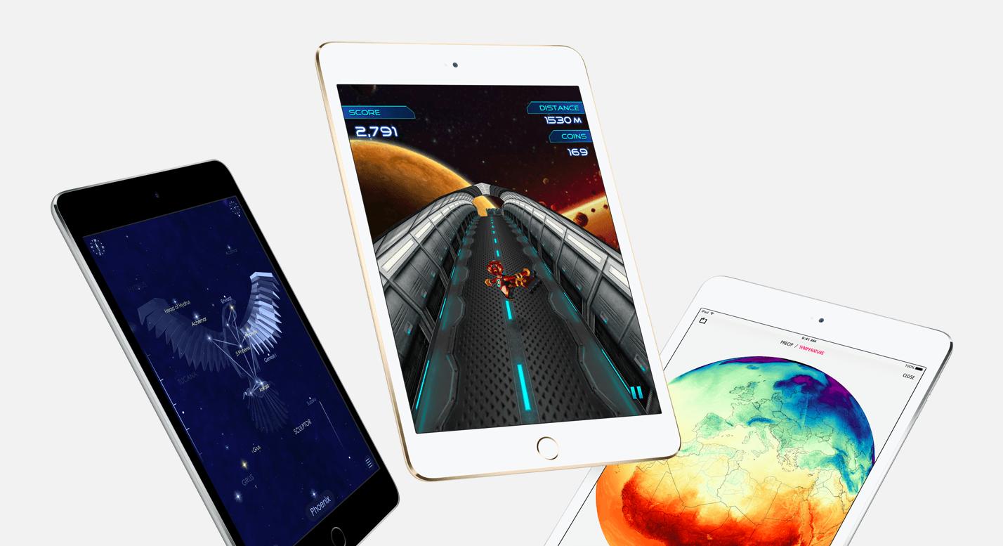 ipad mini 4 promo - Októbrový event: nové iPady, Pencil, MacBook Air, Mac Mini a viac…