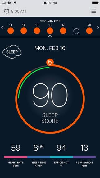 Beddit1 - Máte problém so spaním? Beddit zistí prečo