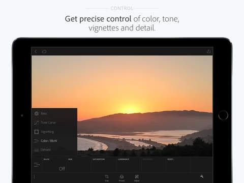 adobe3 - Lightroom je odteraz pre iPad a iPhone zadarmo