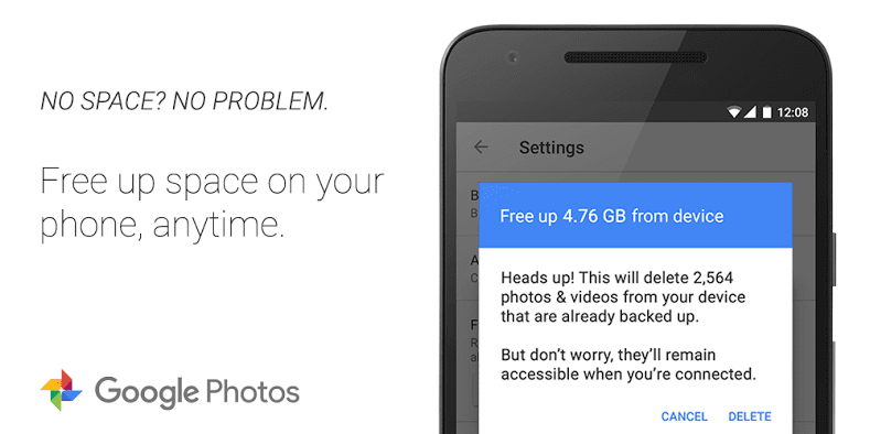 Google Photos for iOS space saving features teaser 001 - Google Photos pre iOS čoskoro pridá funkciu, ktorá bude šetriť pamäť