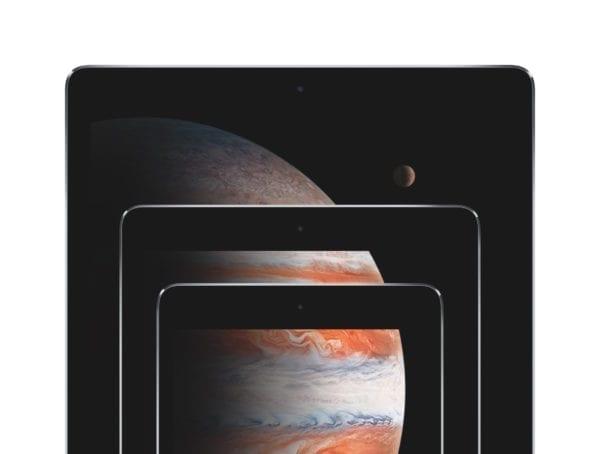 iPad Stack Jupiter PRINT 600x454 - Marcový event: nové iPady, 128 GB iPhone SE a červený iPhone 7?