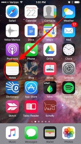 notes - Ako robiť vylepšené poznámky v Notes v iOS9