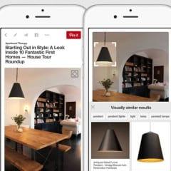 pinterest5 240x240 - iOS: Pinterest doplní vizuálne vyhľadávanie obrázkov