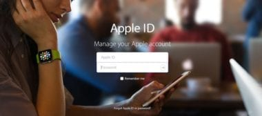 Apple ID Login 1024x452 380x168 - Ransomware opäť ohrozuje Apple zariadenia