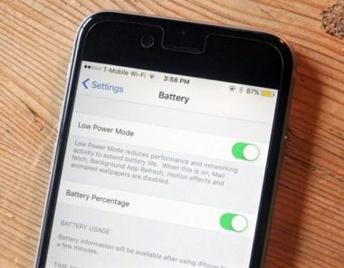 iphone 6 battery settings 380x296 - Apple priznáva problémy s ukazovateľom batérie na iPhone 6s