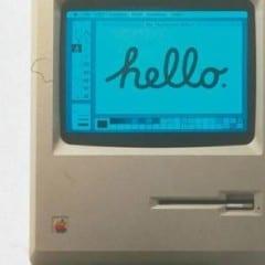 macintosh 32 rokov 240x240 - Toto je nejspíše nejmenší Mac, na kterém lze spustit Photoshop