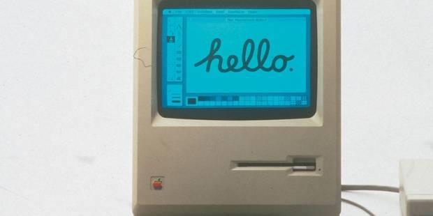 macintosh 32 rokov - Toto je nejspíše nejmenší Mac, na kterém lze spustit Photoshop