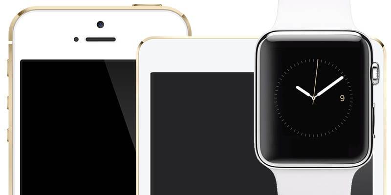 Apple Watch iPad iPhone devices - iPad Air 3 a iPhone 5se by sa mali dostať do predaja už 18. marca