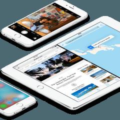 iphones ipad ios9 large devices 240x240 - iOS 9 už používa 84 % zariadení, Apple začína vo veľkom testovať iOS 10