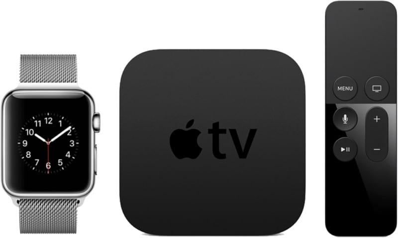 applewatch appletv devices - Apple vydal watchOS 2.2 a tvOS 9.2