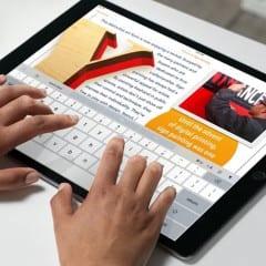 iPad Pro iwork 240x240 - Apple rozširuje funkcionalitu sady iWork pre iPad