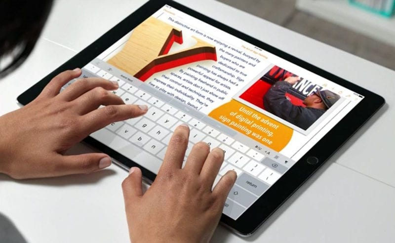 iPad Pro iwork 800x492 - Apple rozširuje funkcionalitu sady iWork pre iPad
