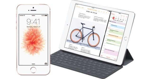 "uboxing ipad a iphone 600x336 - Predaj iPhonu SE a 9,7"" iPadu Pro sa na Slovensku spustí 4. apríla"