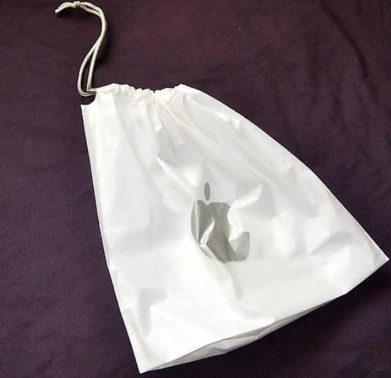 Apple-Plastic-Bag