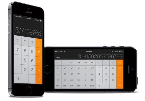kalkulacka iphone 600x419 - Na kalkulačce v iOS 11 si nespočítáte ani 1+2+3