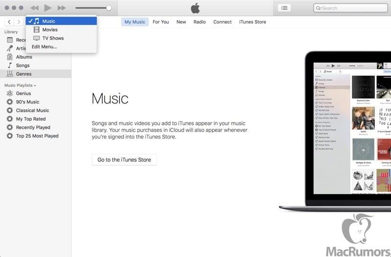 itunesnavigation 800x527 - iTunes dostane vo verzii 12.4 menší redizajn, pozrite si screenshoty